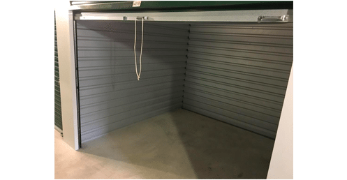 10x10 Climate Controlled Storage Unit